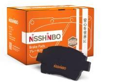 Колодки тормозные Nisshinbo Япония|низкая цена| доставка по РФ