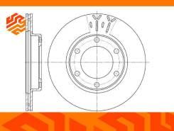 Диск тормозной вентилируемый G-Brake GR20029 передний