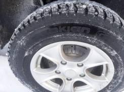 Комплект зимних колёс на ниву литые диски nokian Nordman 5 205/75/15
