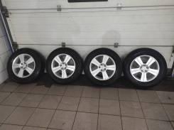 Оригинальные диски Subaru R16 + зимние шины Bridgestone Vrx
