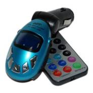Модулятор MP3-FM i-Mobile, пульт ДУ в комплекте